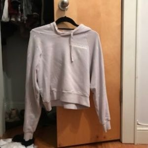 SoulCycle Cropped Hoodie